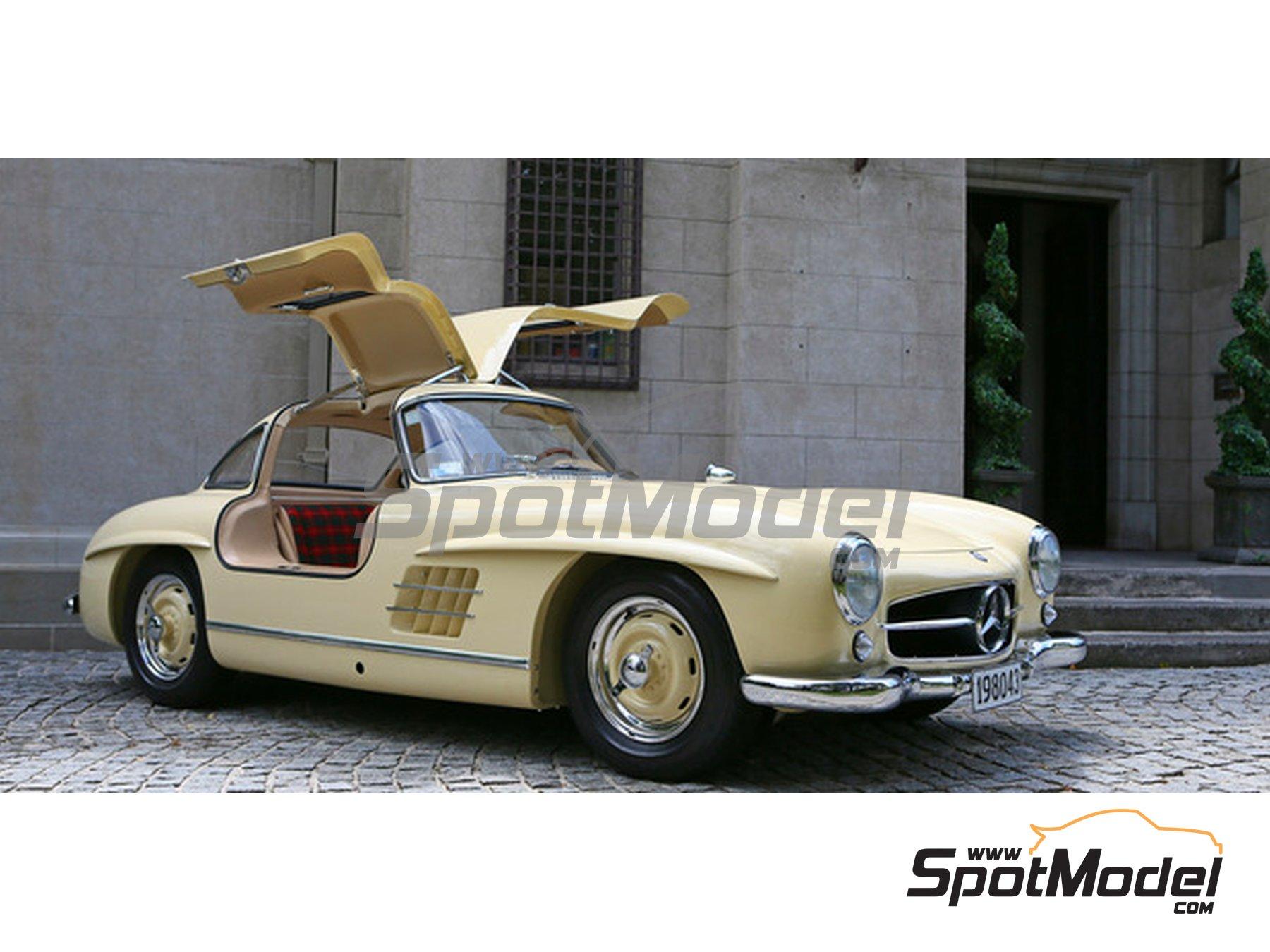 Image 2: Ivory Elfenbein for Mercedes-Benz 300SL - Codigo: DB608 - 1 x 60ml | Paint manufactured by Zero Paints (ref.ZP-1296-DB608)