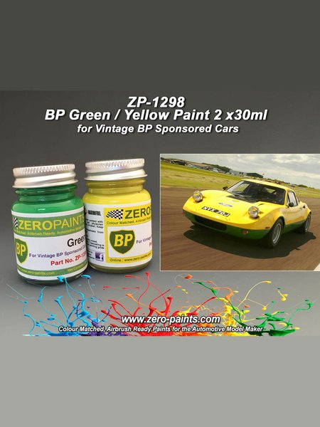 BP Green and Yellow - 2 x 30ml | Paints set manufactured by Zero Paints (ref. ZP-1298) image