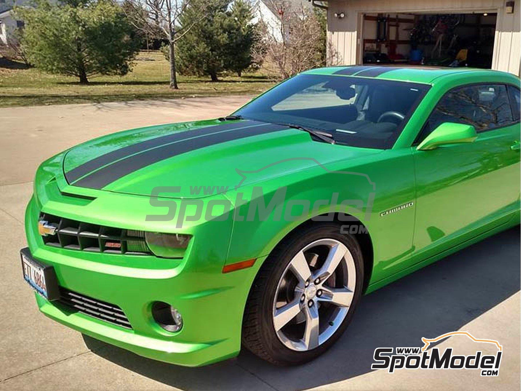 Image 1: Verde Chevrolet Camaro Synergy Green - 1 x 60ml | Pintura fabricado por Zero Paints (ref.ZP-1306)
