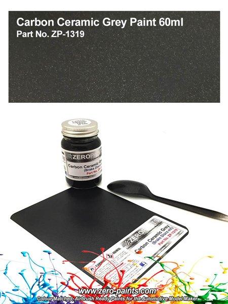 Carbon Ceramic Grey - 1 x 60ml | Paint manufactured by Zero Paints (ref.ZP-1319) image