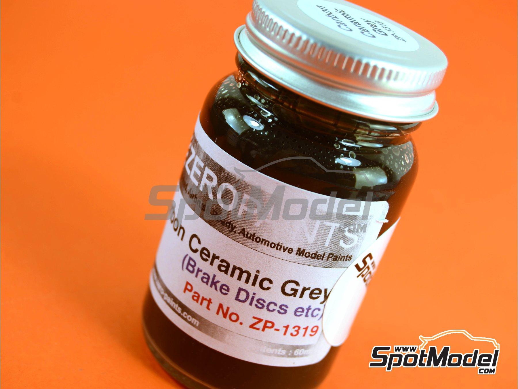Image 5: Carbon Ceramic Grey - 1 x 60ml | Paint manufactured by Zero Paints (ref.ZP-1319)