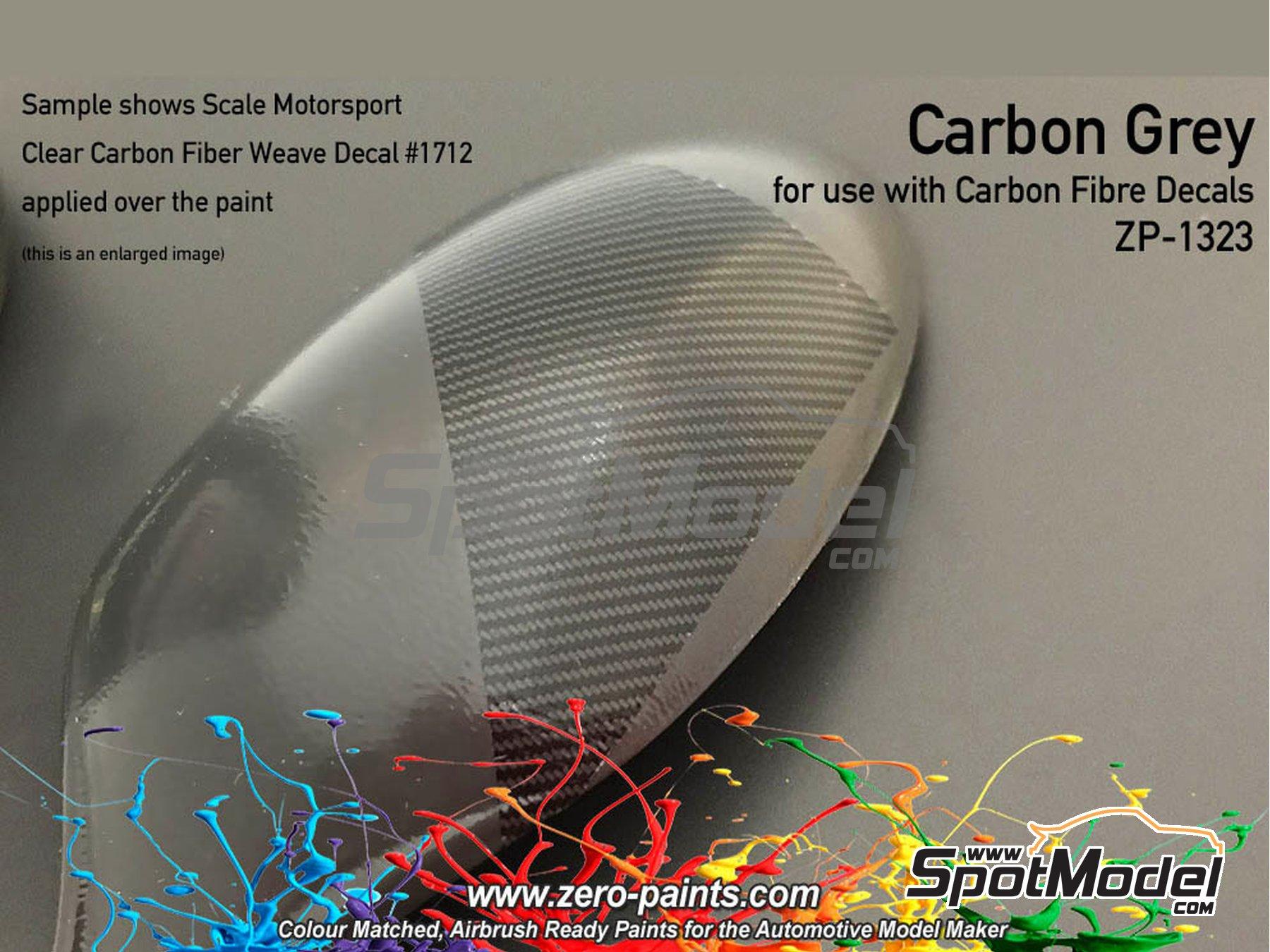 Image 3: Carbon Fibre Grey - 1 x 60ml | Paint manufactured by Zero Paints (ref.ZP-1323)