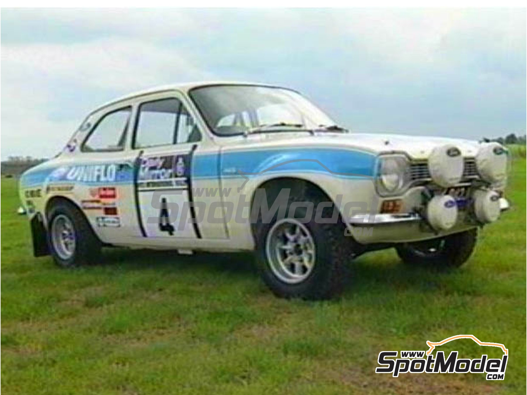 Image 3: Ford Diamond White - 60ml - RAC Rally 1972 | Paint manufactured by Zero Paints (ref. ZP-1332)