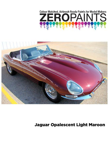 Marrón Jaguar Opalescent Light Marron | Pintura fabricado por Zero Paints (ref. ZP-1398-OPAL-MAROON) image