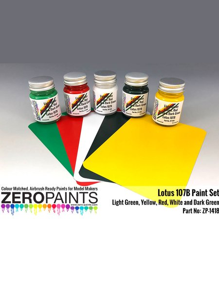 Lotus Ford 107B | Set de pinturas fabricado por Zero Paints (ref. ZP-1418) image