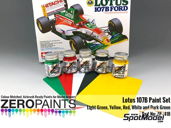 Image 2: Lotus Ford 107B | Set de pinturas fabricado por Zero Paints (ref. ZP-1418)