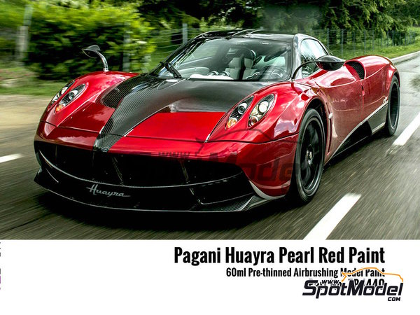 Image 4: Pagani Huayra pearl red - 1 x 60ml | Paint manufactured by Zero Paints (ref. ZP-1440)