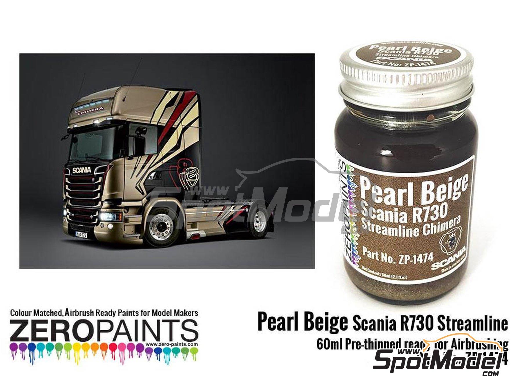 Image 1: Beige perlado para Scania R730 Streamline | Pintura fabricado por Zero Paints (ref.ZP-1474)