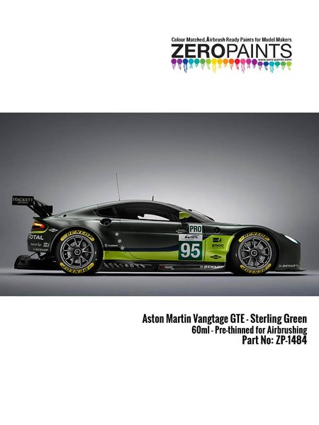 Aston Martin Sterling Green | Paint manufactured by Zero Paints (ref. ZP-1484) image