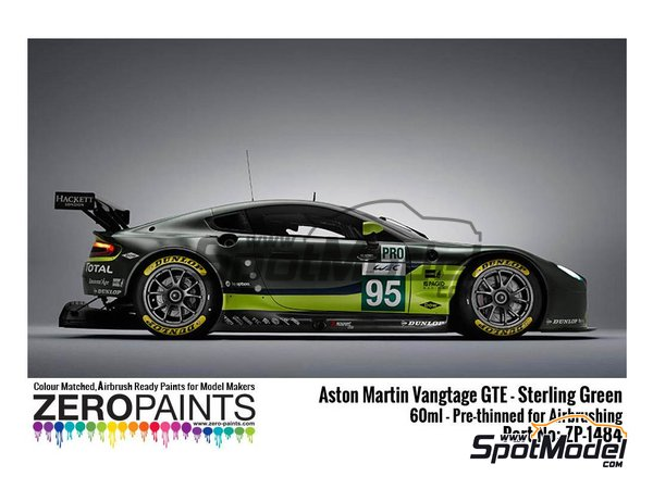 Image 1: Aston Martin Sterling Green | Paint manufactured by Zero Paints (ref. ZP-1484)