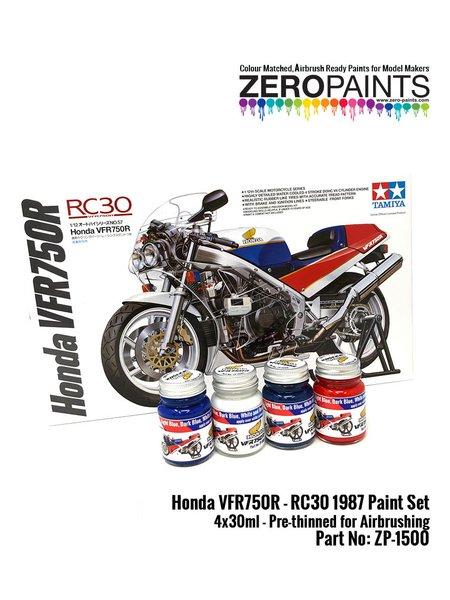 Honda VFR750R RC30 | Paints set manufactured by Zero Paints (ref.ZP-1500) image