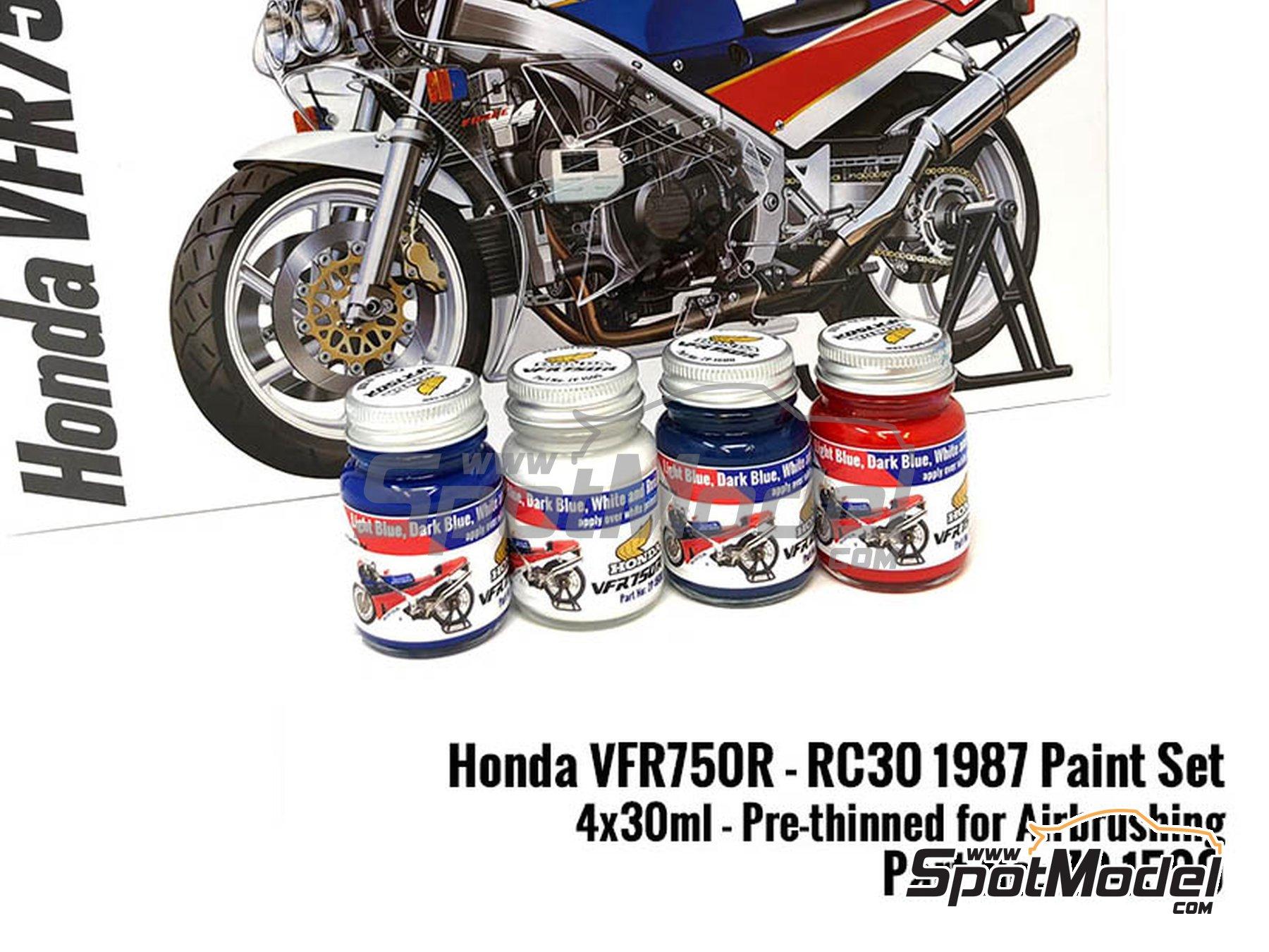 Image 1: Honda VFR750R RC30 | Paints set manufactured by Zero Paints (ref.ZP-1500)