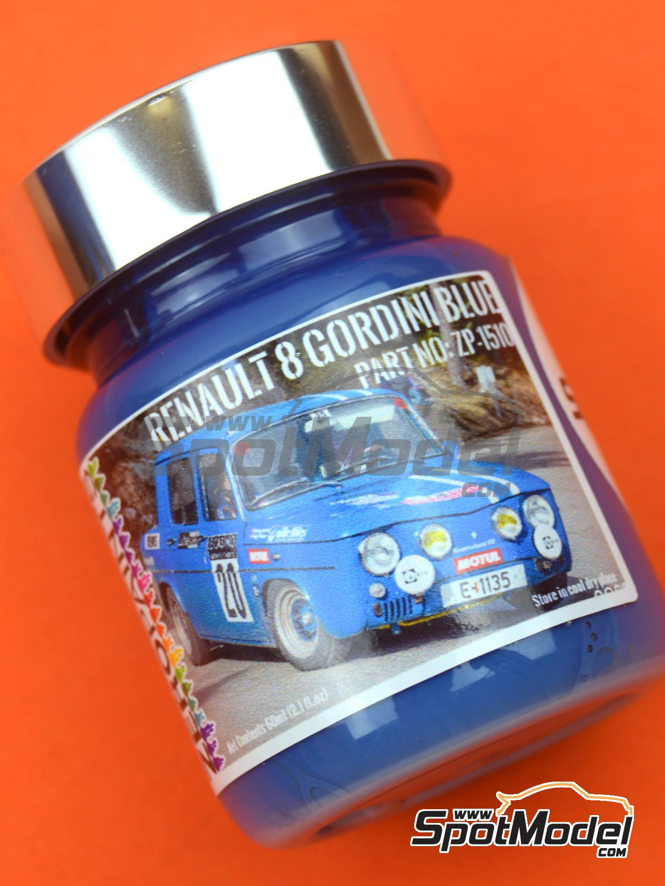 Renault R8 Gordini Blue - 1 x 60ml | Paint manufactured by Zero Paints (ref. ZP-1510) image