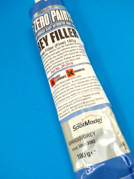 Grey Filler Fine - 180 grs | Putty manufactured by Zero Paints (ref. ZP-2018) image