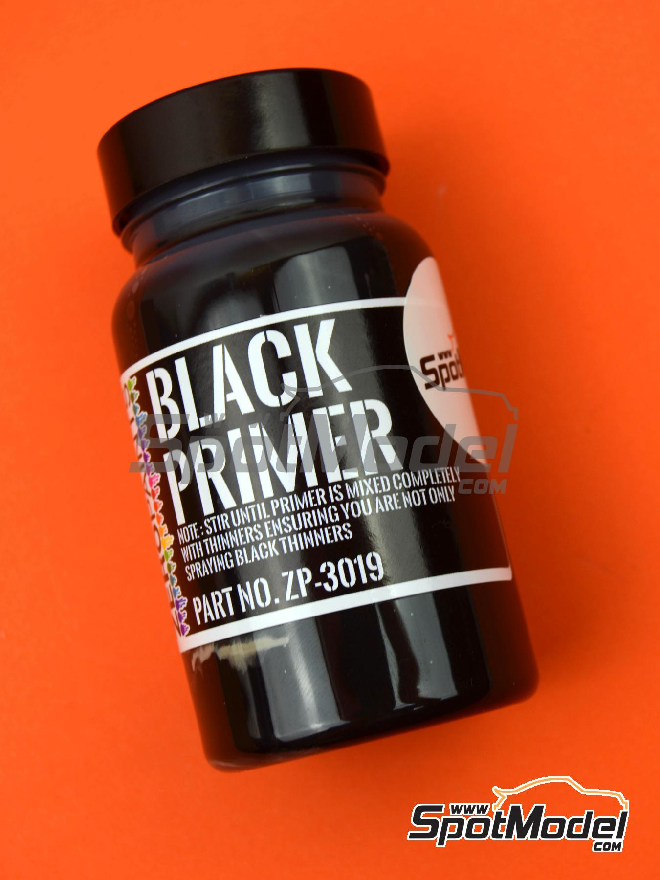 Black Primer - Micro Filler -120ml | Primer manufactured by Zero Paints (ref. ZP-3019) image