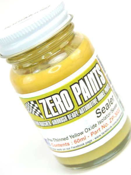Pre-Thinned Paint Sealer - 60 ml | Primer manufactured by Zero Paints (ref.ZP-3022) image