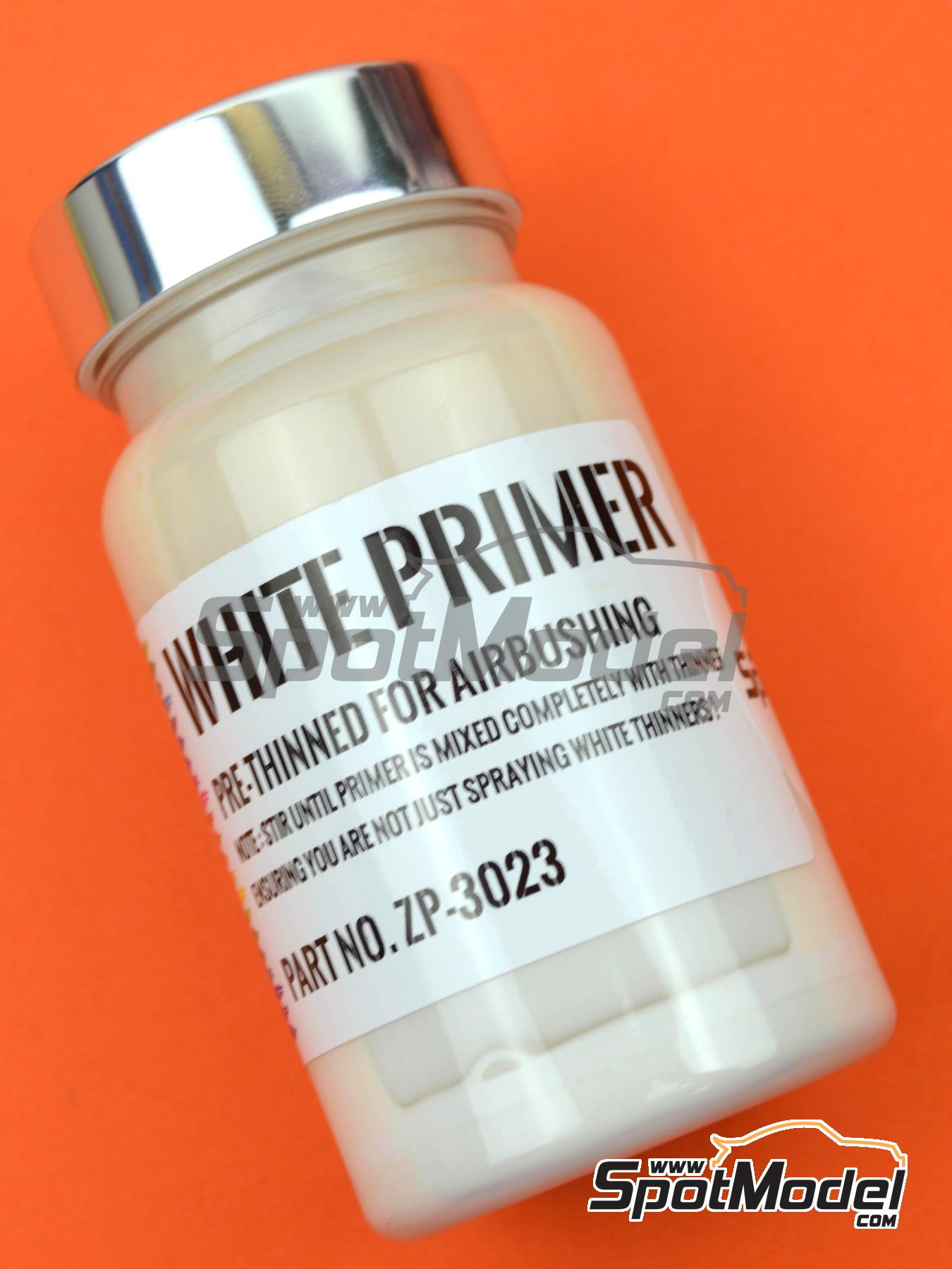 White Primer - Micro Filler -120ml | Primer manufactured by Zero Paints (ref. ZP-3023) image