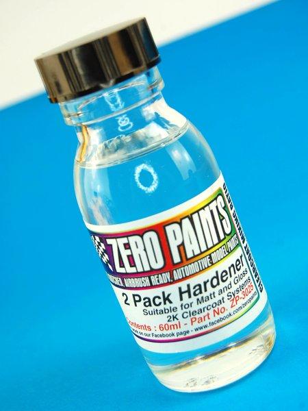 Catalizador de repuesto para laca 2 Pack Gloss Clearcoat - 1 x 60ml | Barniz fabricado por Zero Paints (ref.ZP-3025) image