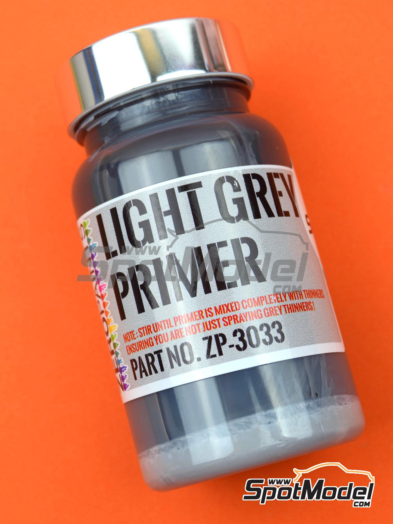 Light Grey Primer - 120ml | Primer manufactured by Zero Paints (ref.ZP-3033) image