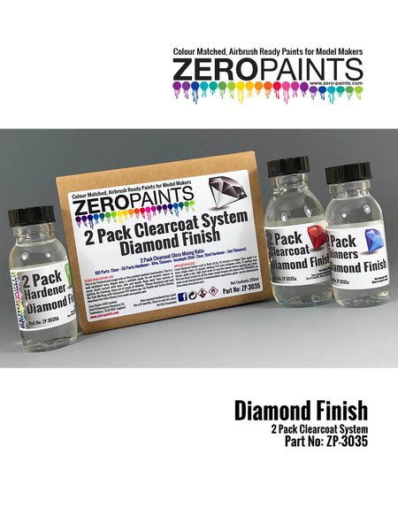 Diamond Finish - 2 Pack GLOSS Clearcoat System - 2K Urethane | Clearcoat manufactured by Zero Paints (ref. ZP-3035) image