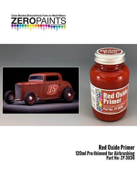 Red oxide | Primer manufactured by Zero Paints (ref. ZP-3036) image