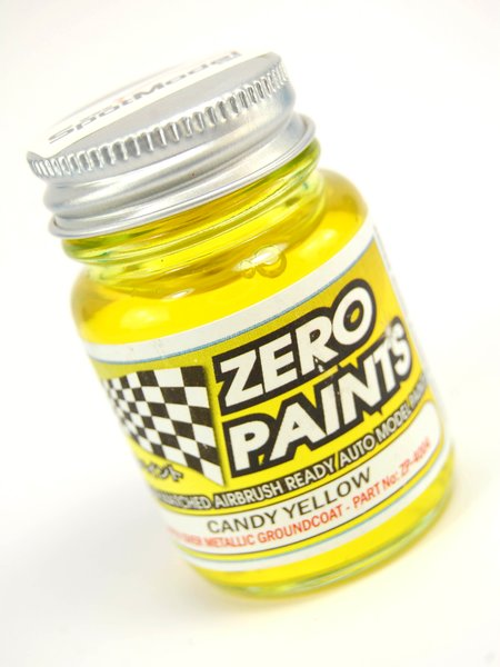 Candy Yellow Paint - 1 x 30ml | Paint manufactured by Zero Paints (ref.ZP-4004) image