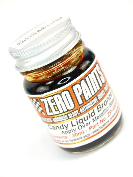 Candy Liquid Bronze Paint - 1 x 30ml | Paint manufactured by Zero Paints (ref.ZP-4005) image