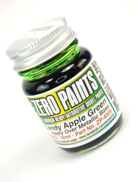 Verde manzana candy - Candy Apple Green Paint - 1 x 30ml | Pintura fabricado por Zero Paints (ref.ZP-4009) image