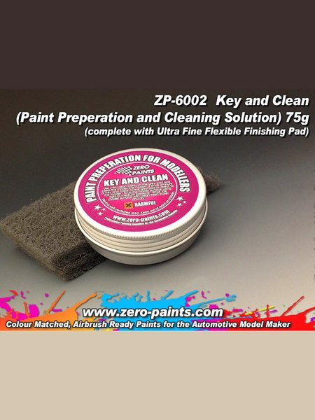 Key and clean | Cleaner manufactured by Zero Paints (ref. ZP-6002) image