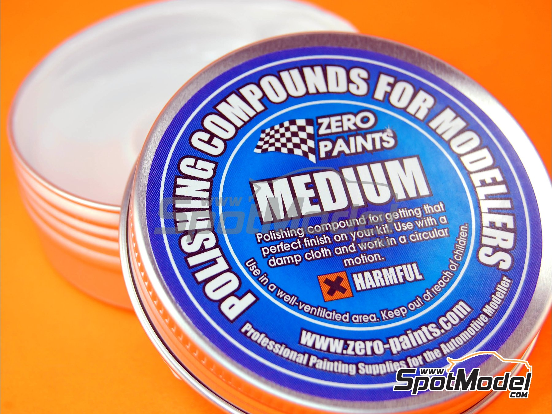 Image 1: Pulimento de grano medio - Medium polishing compound | Pulimento fabricado por Zero Paints (ref. ZP-6007)