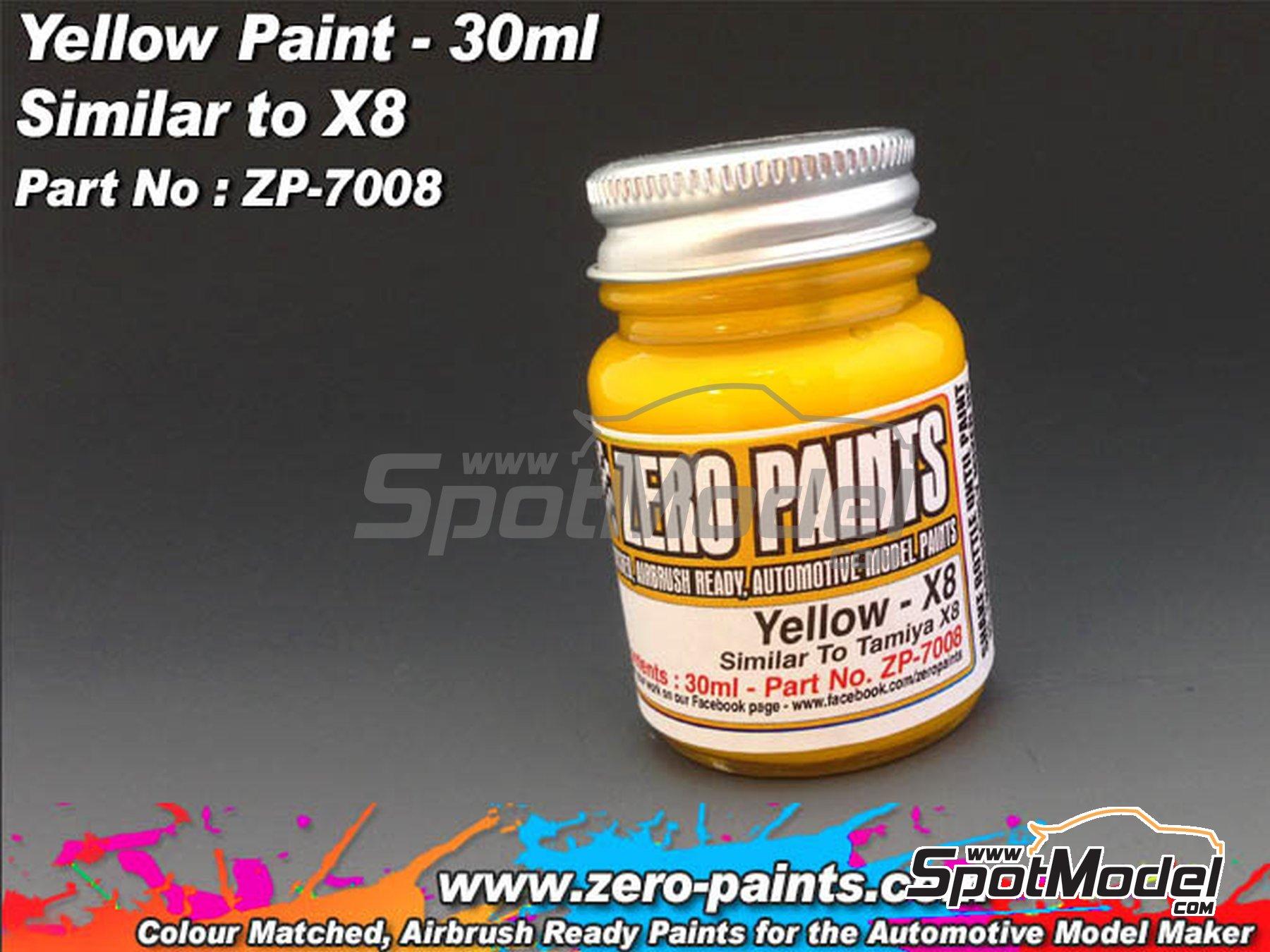 Image 1: Amarillo - Yellow - Similar a Tamiya X-8 - 1 x 30ml | Pintura fabricado por Zero Paints (ref.ZP-7008)