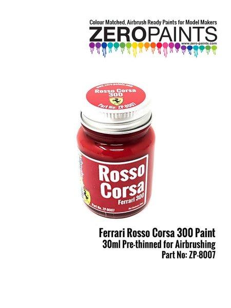 Rojo Ferrari Rosso Corsa 300 - 1 x 30ml | Pintura fabricado por Zero Paints (ref.ZP-8007-300) image