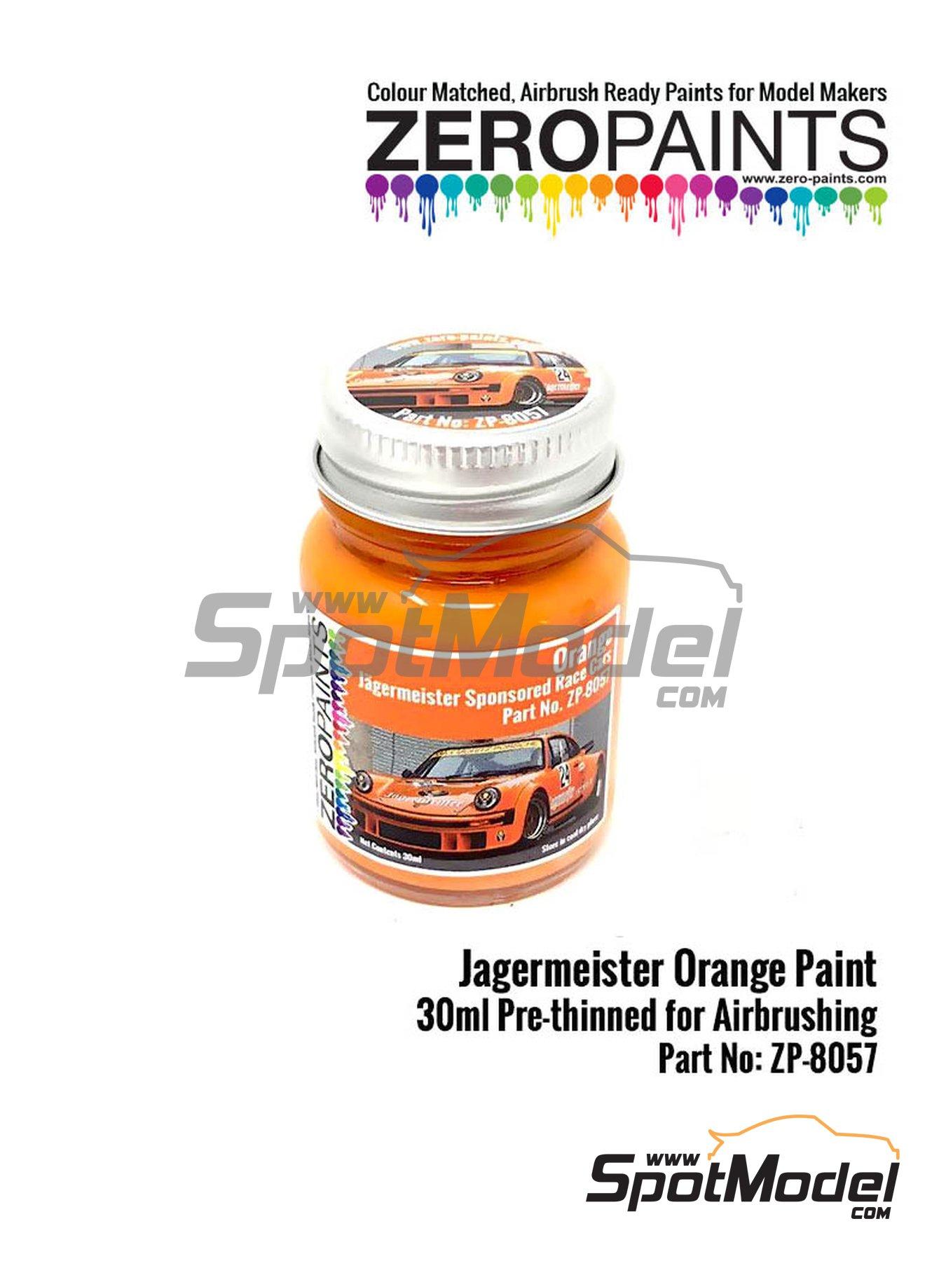 Naranja Jagermeister Orange - 1 x 30ml | Pintura fabricado por Zero Paints (ref.ZP-8057) image