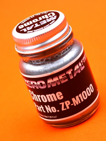 Chrome - 30ml | Paint manufactured by Zero Paints (ref. ZP-M1000) image