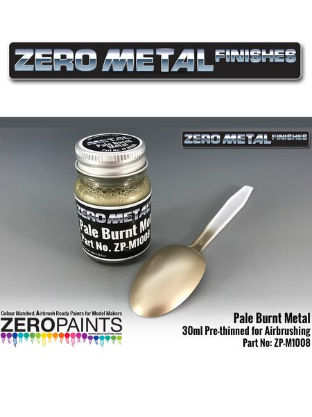 Pale burnt metal | Paint manufactured by Zero Paints (ref. ZP-M1008) image