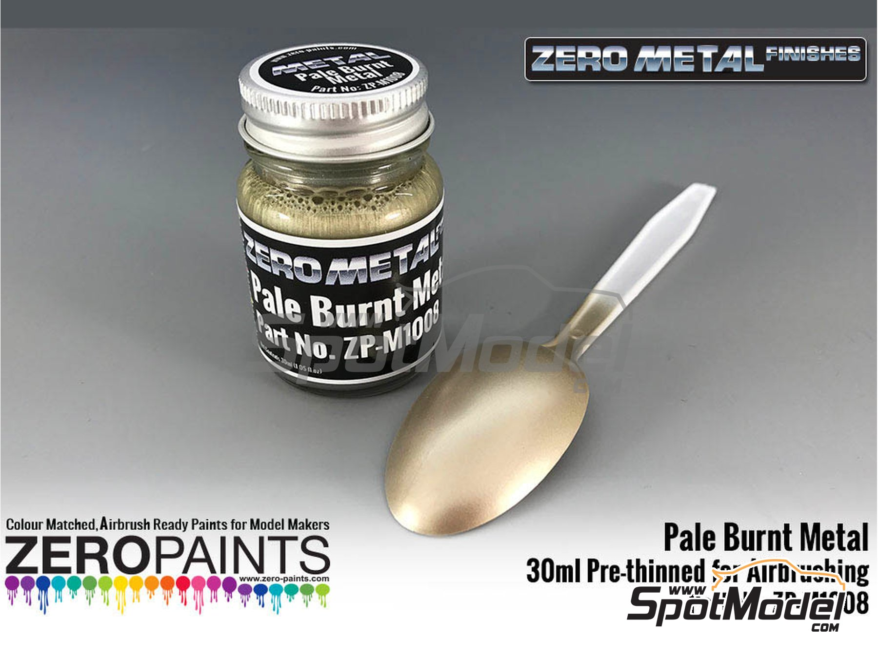 Image 1: Pale burnt metal | Paint manufactured by Zero Paints (ref. ZP-M1008)