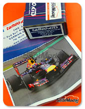 Kit 1/43 Tameo Kits - RB9 Infiniti - Nº 2 - Mark Webber - Gran Premio de Alemania 2013 - maqueta de metal