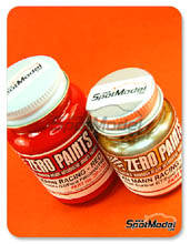 Set de Pintura Zero Paints - Ford GT40 Alan Mann Racing - Red + Gold - Rojo  Dorado - 1x30ml + 1x60ml para Aerógrafo