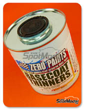 Disolvente Zero Paints - Basecoat Thinners - 500ml para Aerógrafo