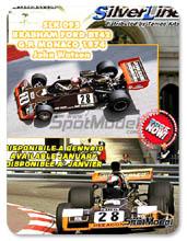 Kit 1/43 Tameo Kits - Brabham Ford BT42 John Goldie - Nº 28 - John Watson - Gran Premio de Monaco 1974 - maqueta de metal