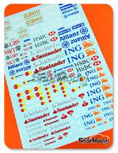 Calcas Virages - Ing, Allianz, HSBC, UBS, Santander, Genii, Master Card