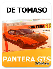 Kit 1/24 Fujimi - De Tomaso Pantera GTS - maqueta de plástico