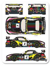 Calcas 1/24 Racing Decals 43 - BMW Z4 GT3 Ice Watch - Nº 4 - M. Martin + N. Catsburg - Baku World Challenge 2013 para Fujimi kit