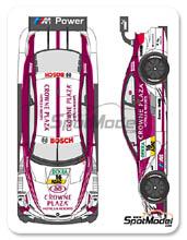 Calcas 1/24 Shunko Models - BMW M3 Crowne Plaza - Nº 16 - Priaulx - DTM 2013 para kits de Revell REV07178 y REV07082