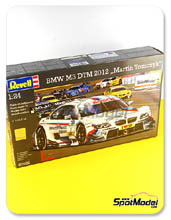 Car kit 1/24 by Revell - BMW M3 Deustche Post - Nº 1 - M. Tomczyk - DTM 2012