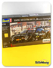 Car kit 1/24 by Revell - BMW M3 BMW Bank - Nº 7 - B. Spengler - DTM 2012