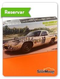 Hasegawa: Maqueta de coche escala 1/24 - Mazda Cosmo Sport Nº 19 1968