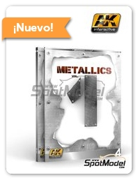 AK Interactive: Libro - Metallics Volumen 1 - Learning series 04