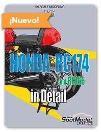 Model Factory Hiro: Libro Photograph Collection for Scalemodeling - Honda RC174 y RC166