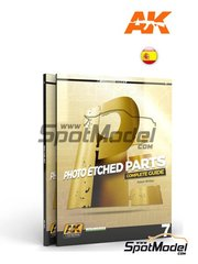 AK Interactive: Book - Photoetched parts - AK Learning series number 7